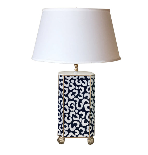 Black Leo Table Lamp