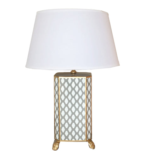 Grey Parsi Lamp
