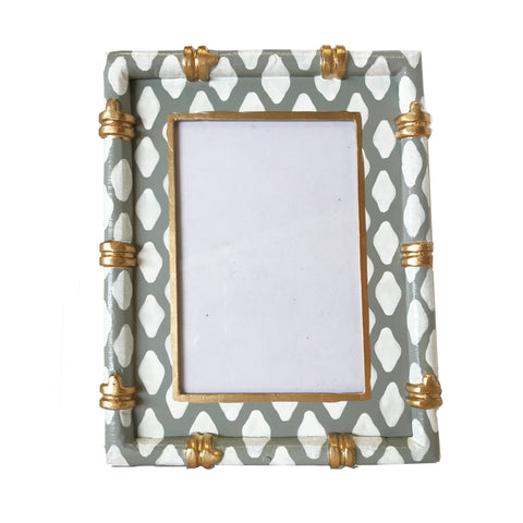 Bamboo in Parsi Grey Picture Frame
