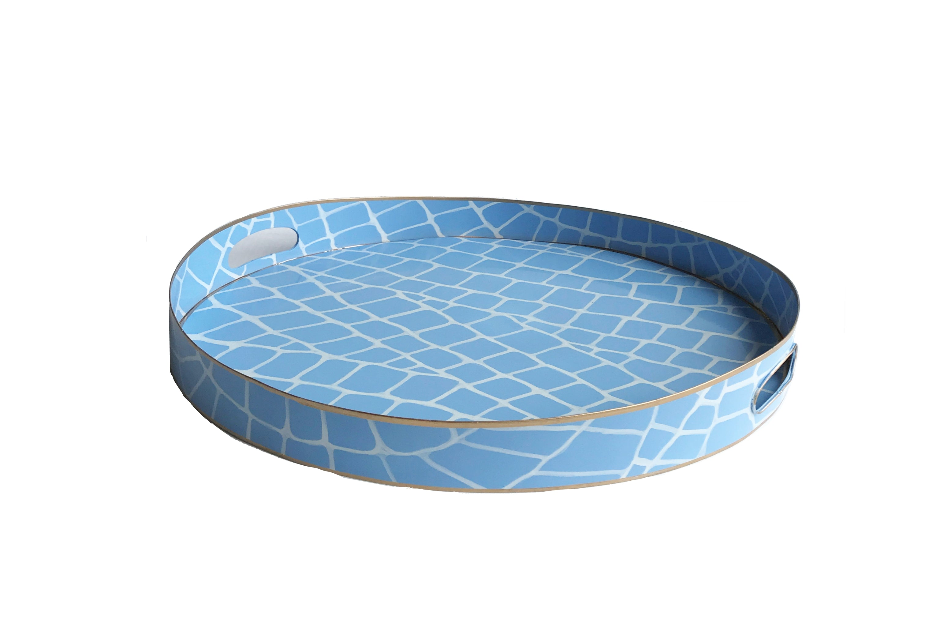 Blue  Croc Tray/Small