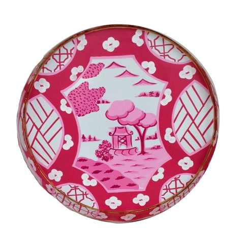 Canton in Pink Tray/Small