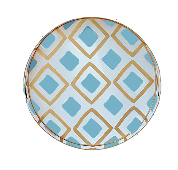 Haslam in Turquoise Tray, Small