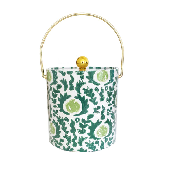 Beaufont in Green Ice Bucket by Dana Gibson