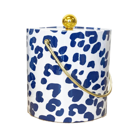 Navy Ocelot  Ice Bucket