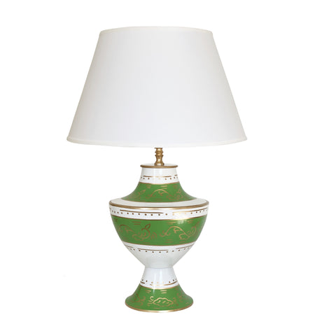 Klismos Lamp in Jules Green Lamp