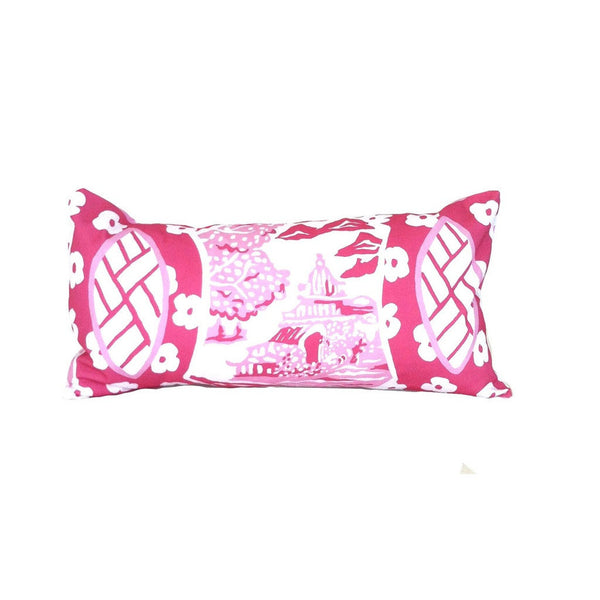 Canton in Pink Lumbar by Dana Givso.
