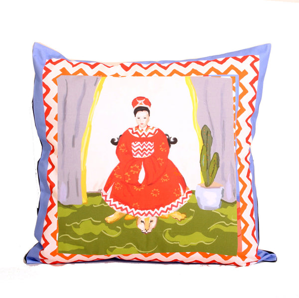 Empress Pillow in Blue