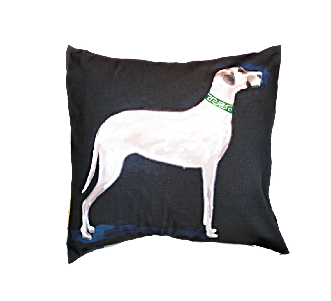 "Great Dane 22"" Pillow"