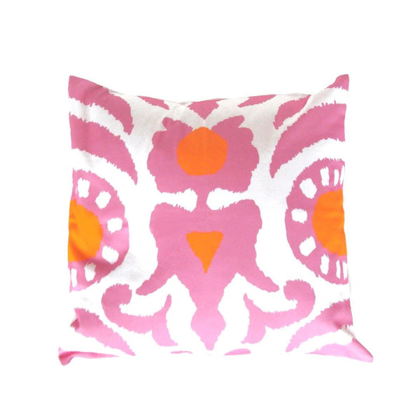 "Pink Agra 22"" Pillow"