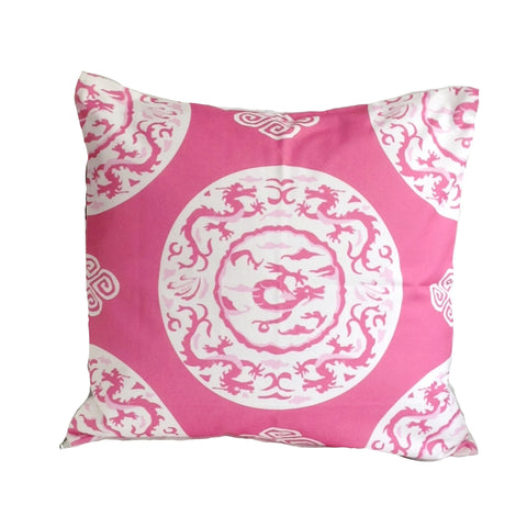 "PinkDragon 22"" Pillow"