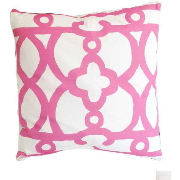 "Pink Ming   22"" Pillow"