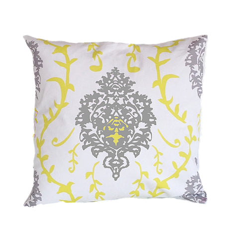 "Yellow Venetto 22"" Pillow"