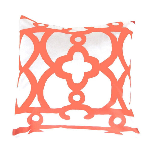"Orange Ming 22"" Pillow"