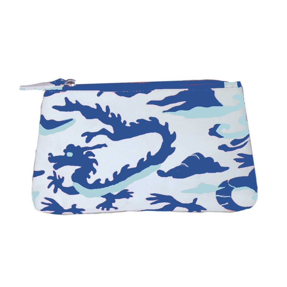 Dragon in Blue  Travel Bag
