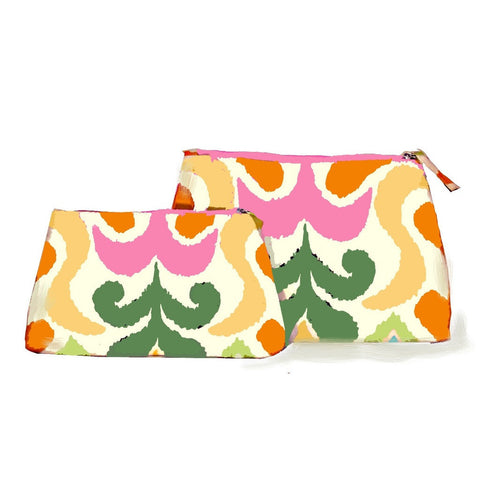 Multi Ikat Travel Bag/Large or Small