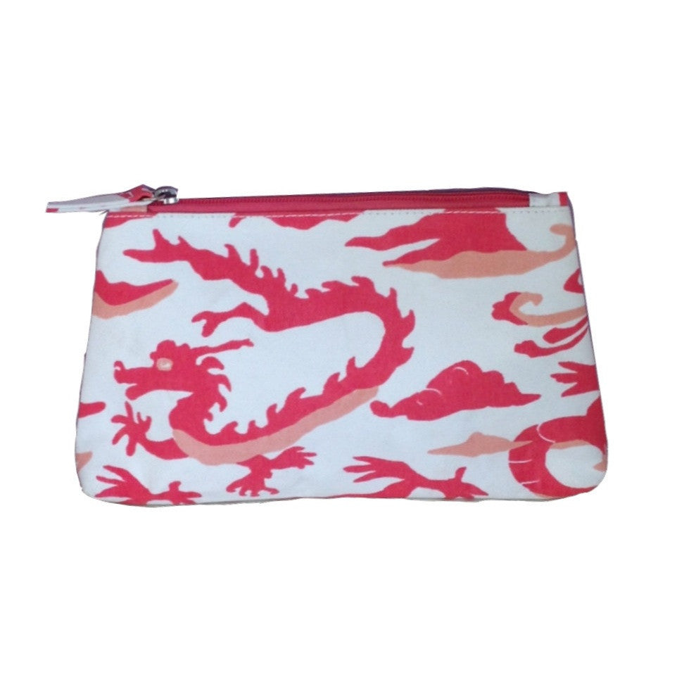 Dragon in Pink Travel Bag