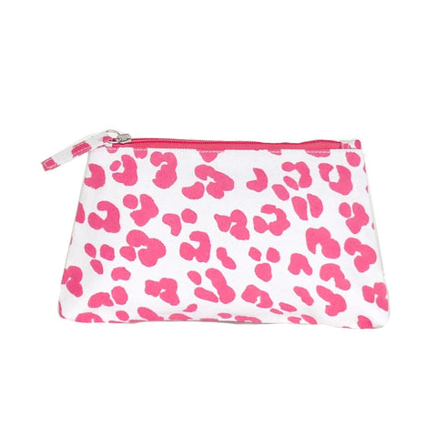 Pink Ocelot Travel Bag