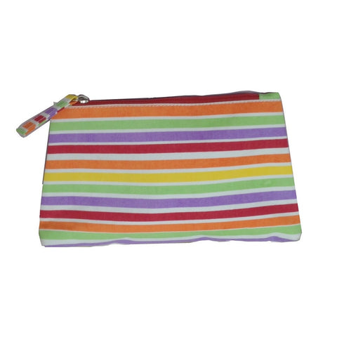 Multi Stripe Travel Bag