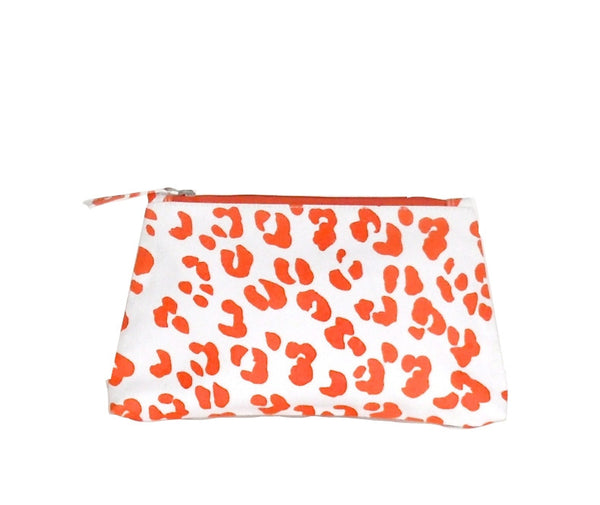 Orange Ocelot Travel Bag