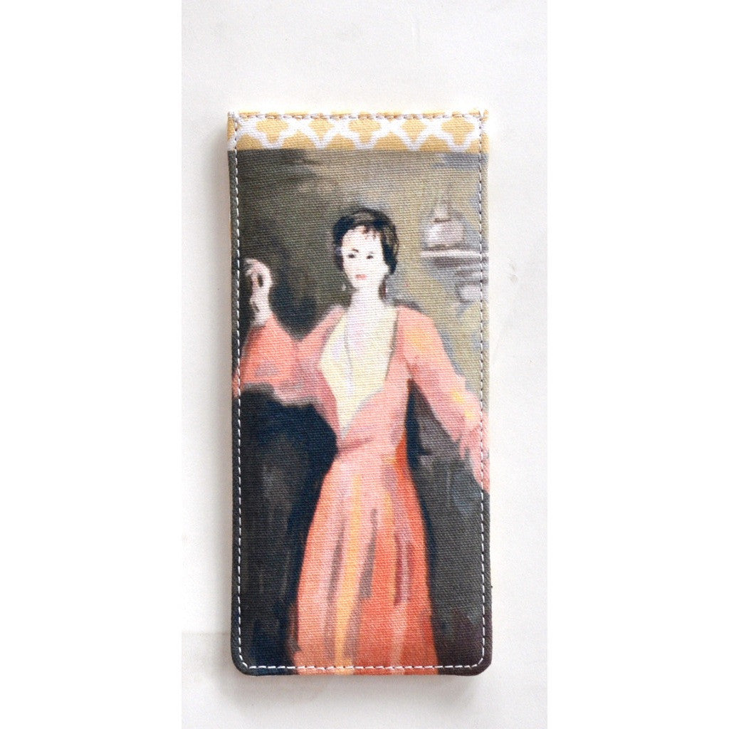 Red Lady Eyeglass Case