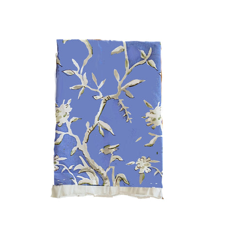 Cliveden Tea Towel in Blue