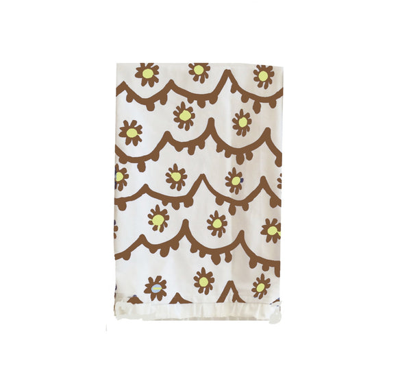 Santos Tea Towel in Brown
