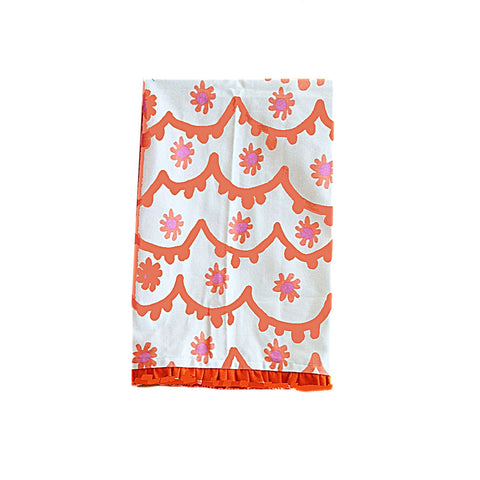 Santos Tea Towel in Pink