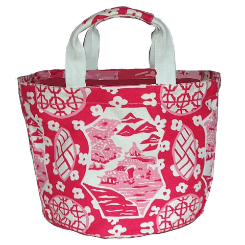 Canton Pink  Bucket Tote
