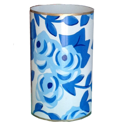 Blue Chintz pen Cup
