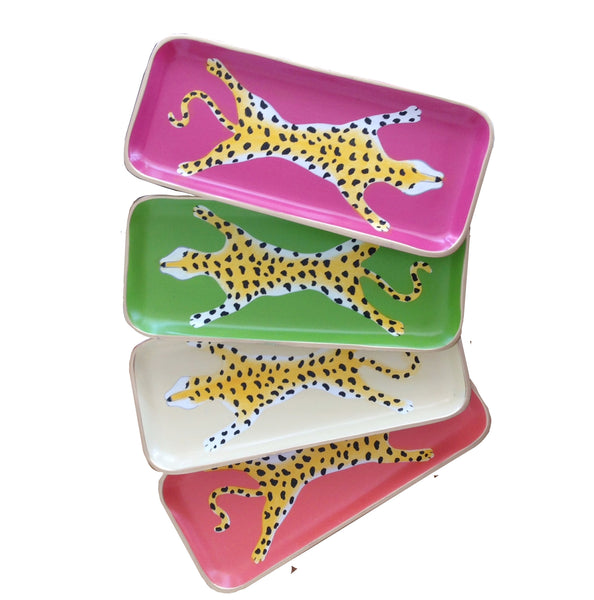 Orange Leopard Tray, and Assorted Trays