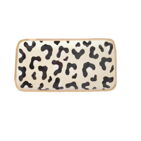White Leopard Tray, Small