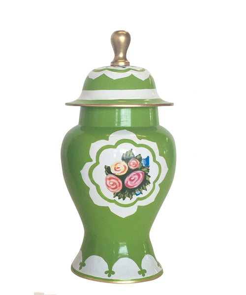 Waldorf in Green Ginger Jar, Small