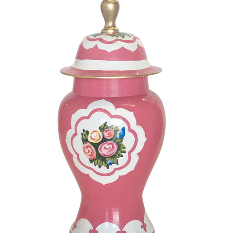 Waldorf in Pink Ginger Jar, Small
