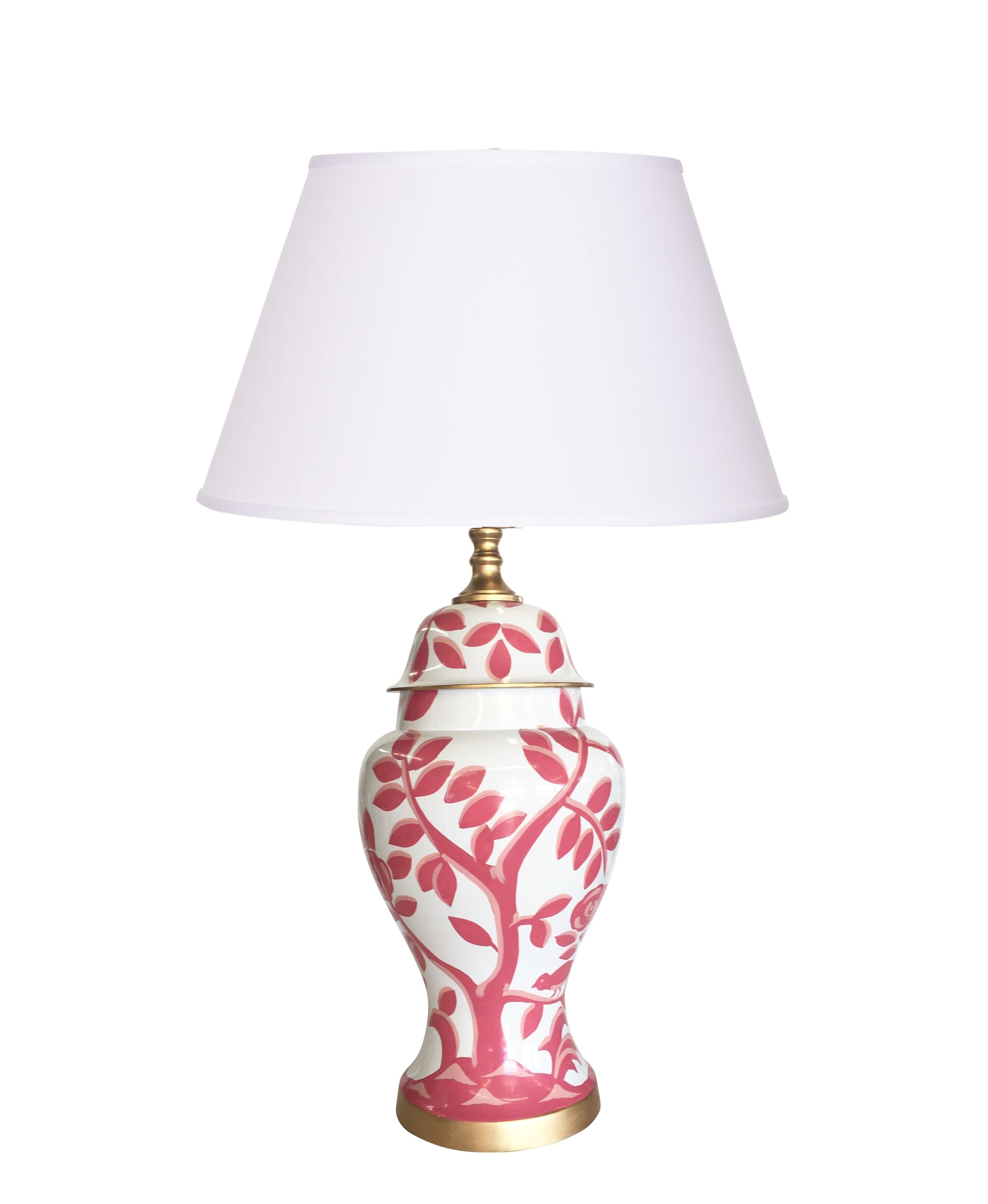 Cliveden in Pink Lamp