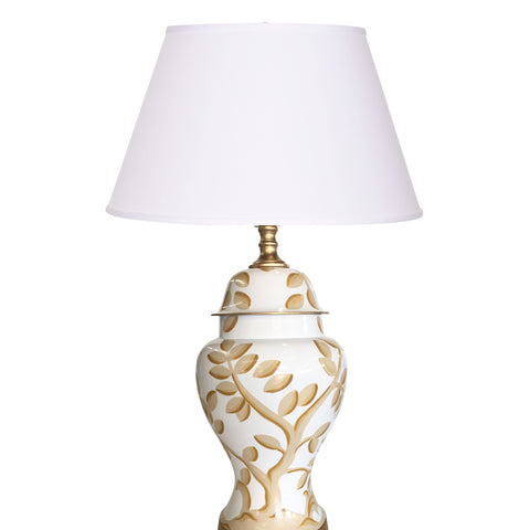 Cliveden in Taupe Lamp