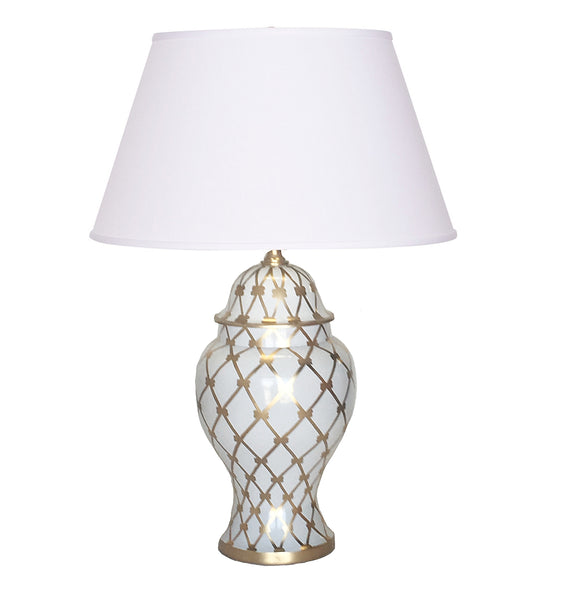 French Twist in Gold Table Lamp