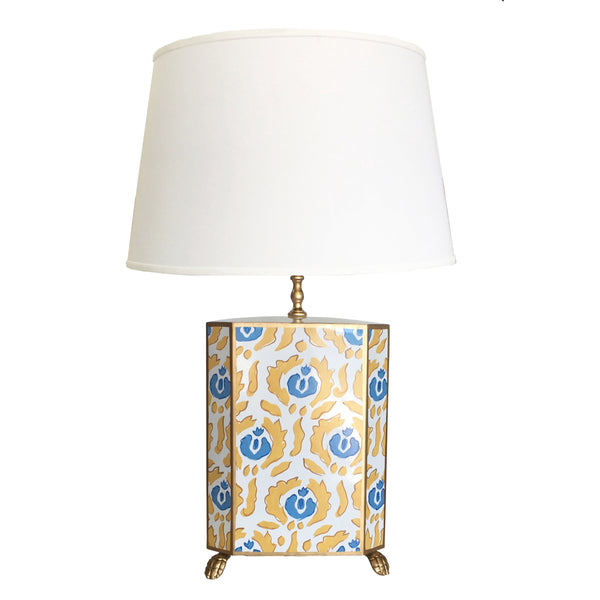 Beaufont Lamp in Yellow and Blue