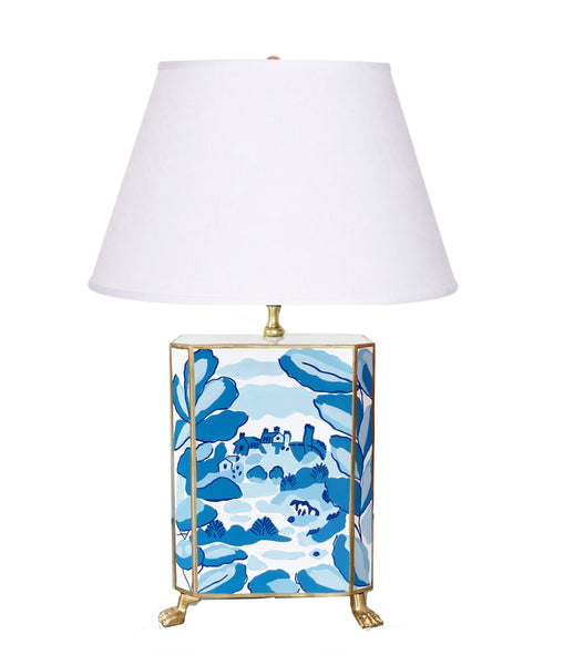 Bristow in Blue Footed  Lamp
