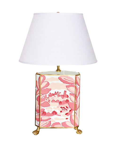 Bristow in Pink Footed  Lamp