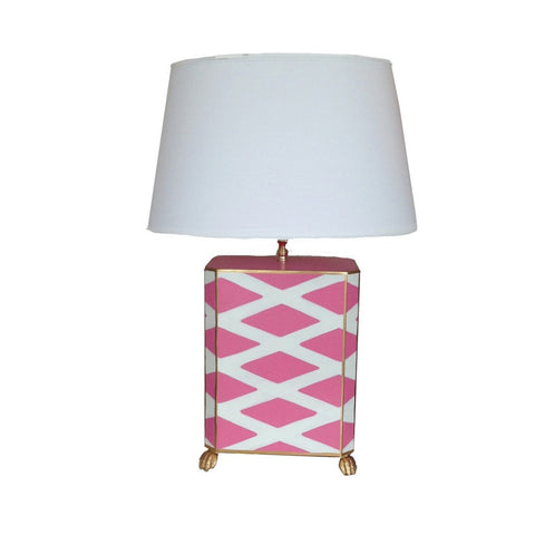 Parthenon Lamp/Pink