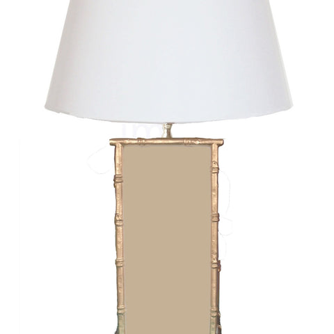 Bamboo in Taupe Lamp