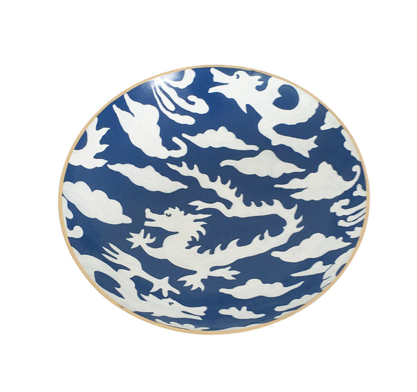 Blue Dragon Bowl, Medium