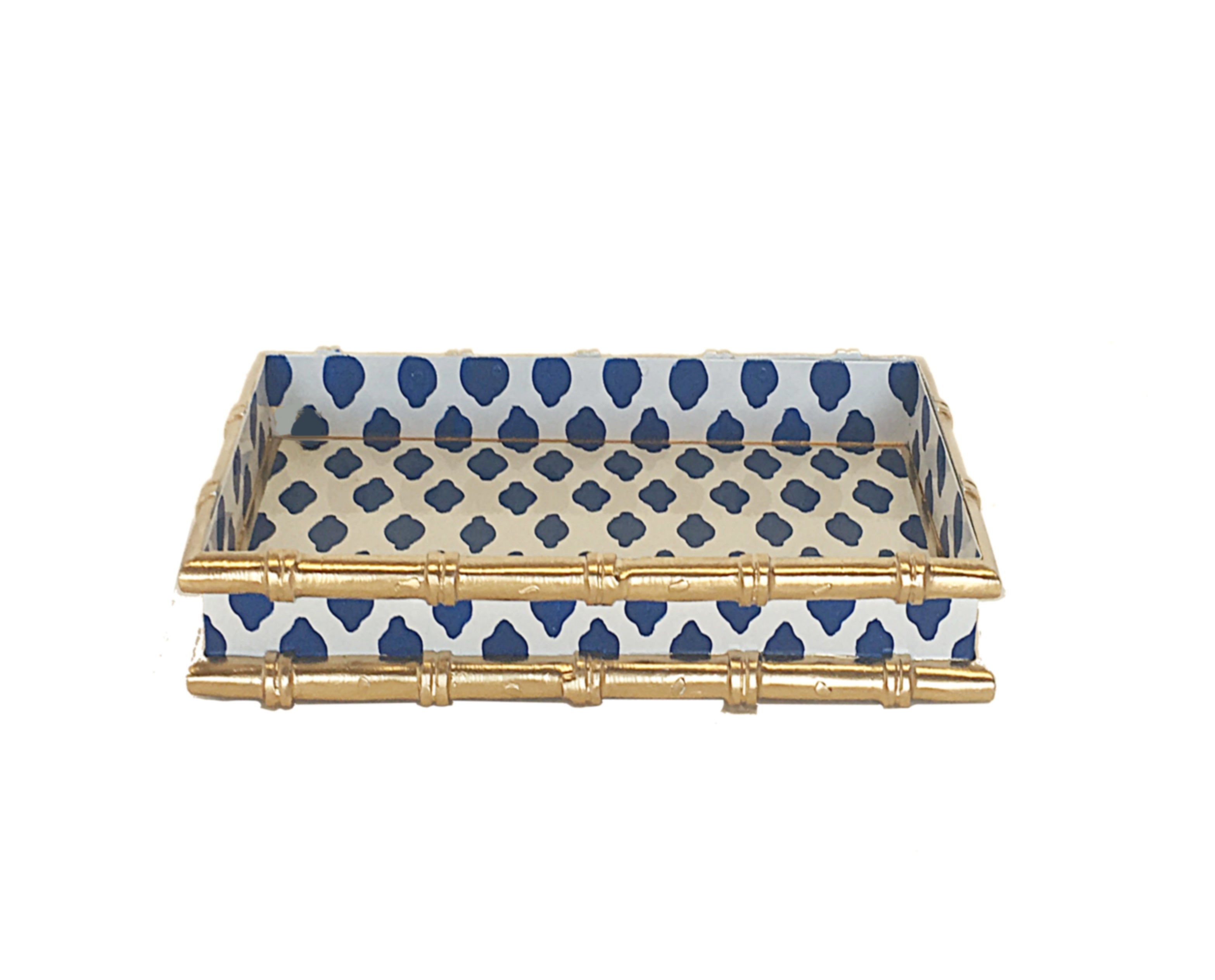 Bamboo in Parsi  Navy  Letter Tray