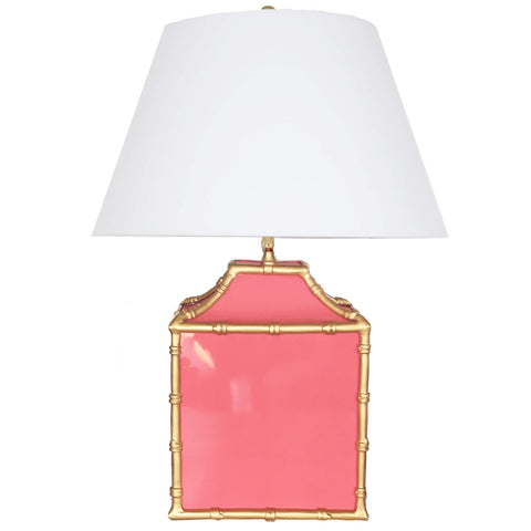Pagoda in Pink Lamp