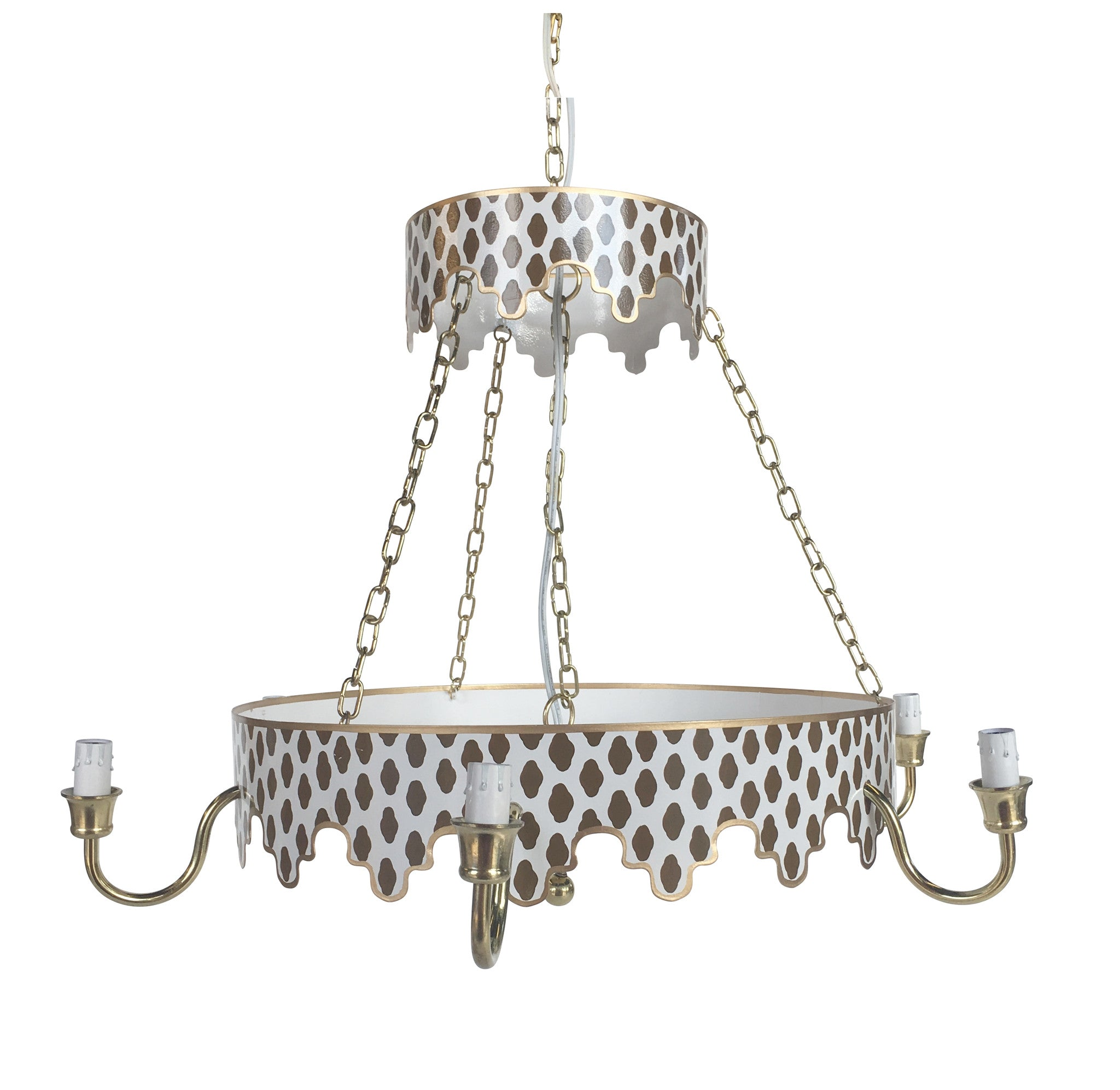 Parsi in Brown Chandelier