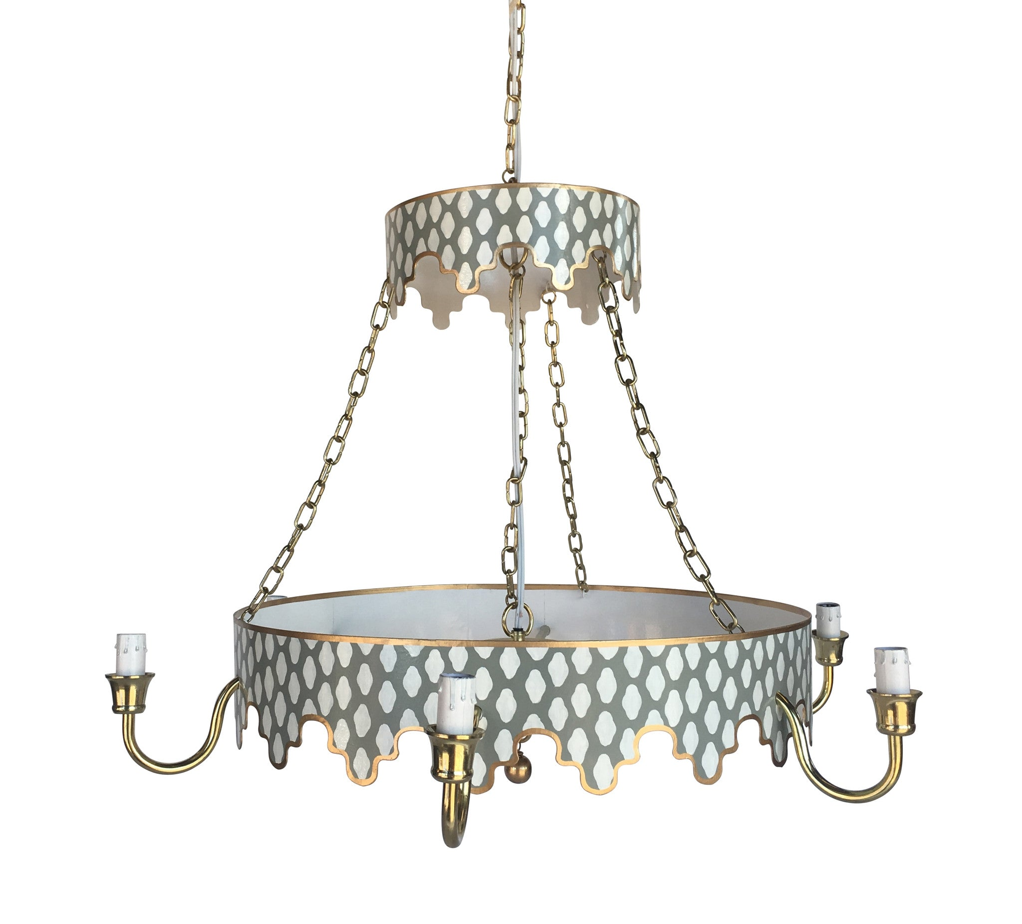 Parsi in grey chandelier dana gibson parsi in grey chandelier aloadofball Image collections