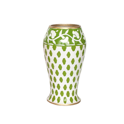 Parsi in Green Farm Vase