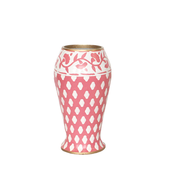 Parsi in Pink Farm Vase