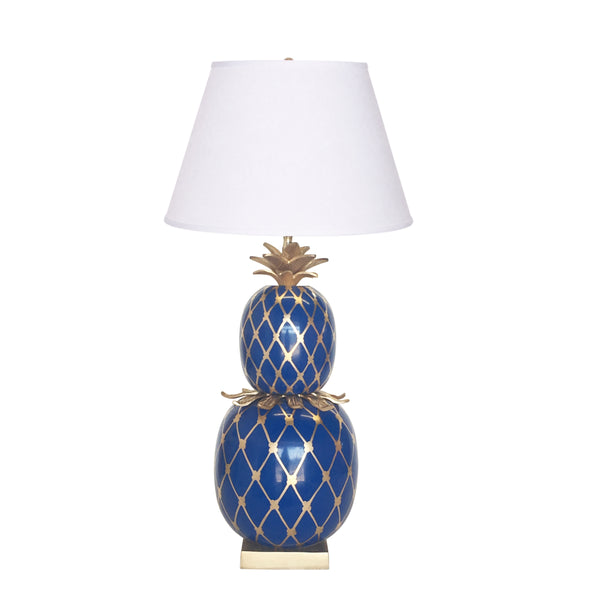 Pineapple Pineapple Lamp in Navy