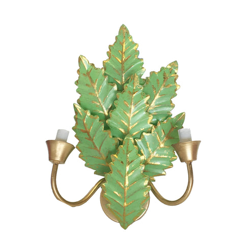 Margot Sconce in Green